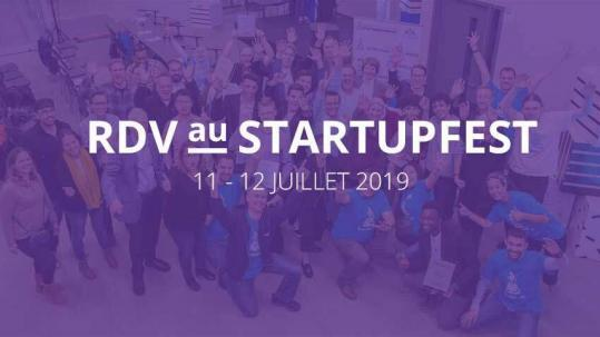 Participation de Laval Innov au Startupfest 2019
