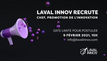 Recrutement: Chef, Promotion de l'innovation
