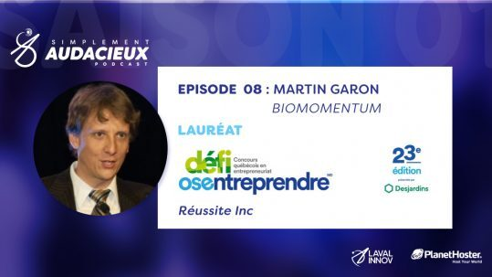 ÉPISODE 08: Martin Garon