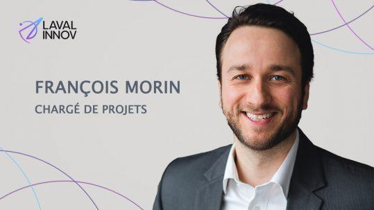 François Morin se joint au bureau de projets de Laval Innov